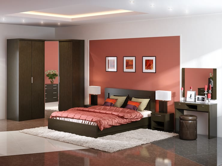 Кровать Fanny 3: Спальная комната  в . Автор – ABICS