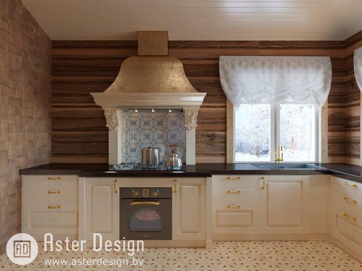 Королевская Кухня: Кухни в . Автор – ASTER DECO