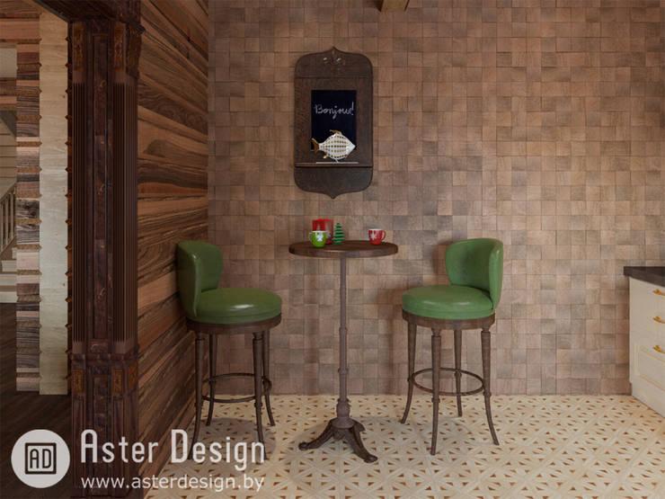 Добротный дом в классическом стиле: Кухня в . Автор – ASTER DECO