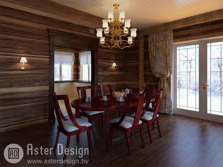 Уютная столовая.: Столовые комнаты в . Автор – ASTER DECO
