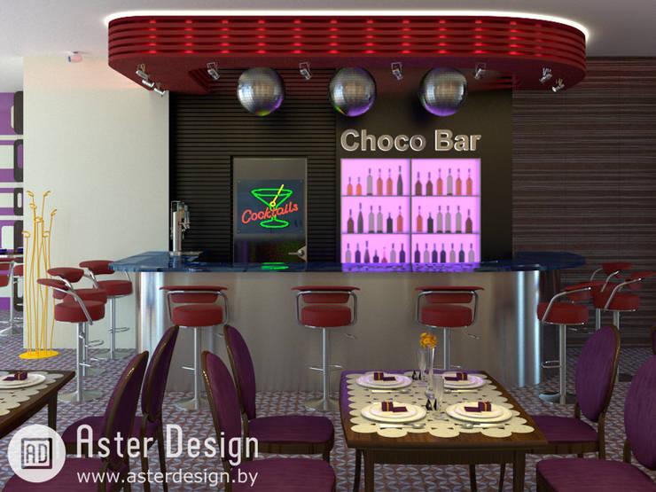 Choco Bar: Кухни в . Автор – ASTER DECO