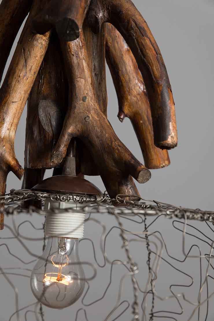 Lampa wisząca POŁUDNICA: styl , w kategorii Salon zaprojektowany przez Chrust
