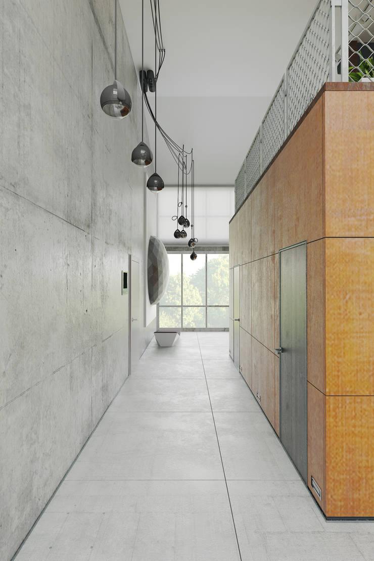 Стены в . Автор – Anton Medvedev Interiors