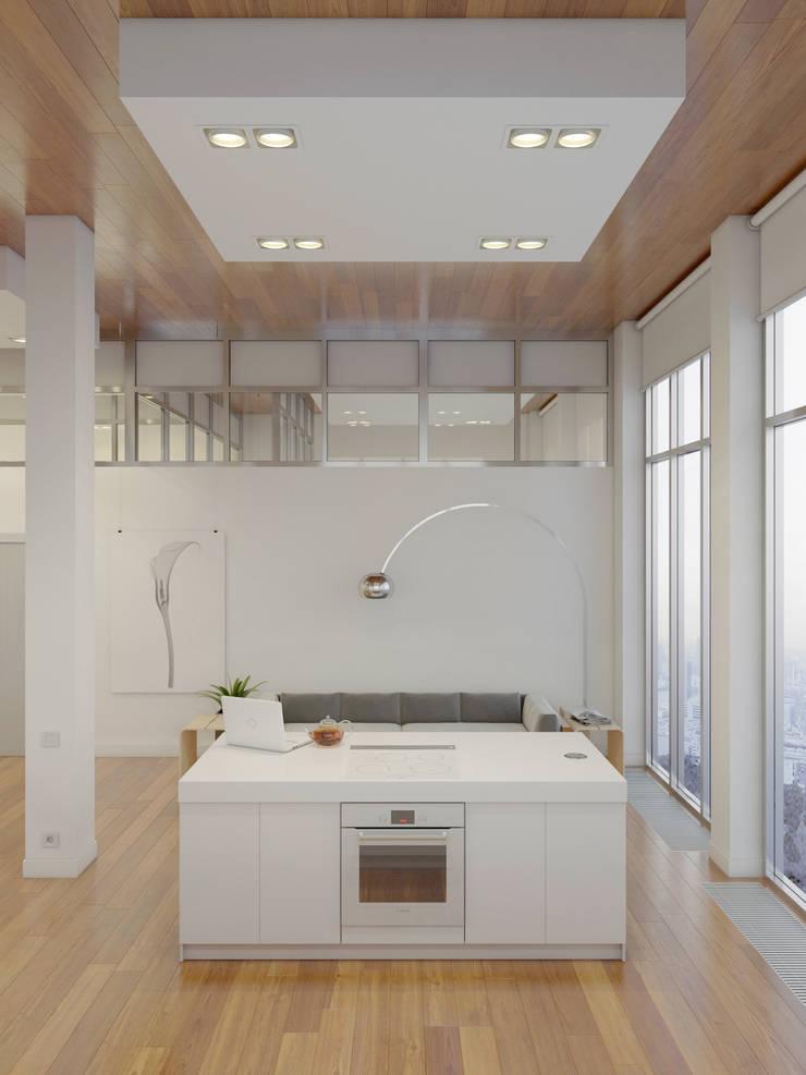 Кухни в . Автор – Anton Medvedev Interiors,
