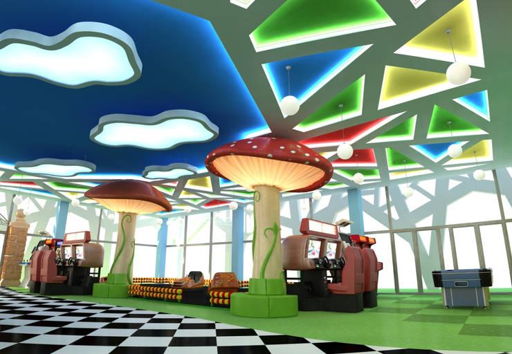 Детский развлекательный центр <q>Алиса</q>:  в . Автор – Studio Kamil Tsuntaev