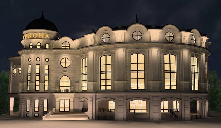Торгово-развлекательный центр:  в . Автор – Studio Kamil Tsuntaev,