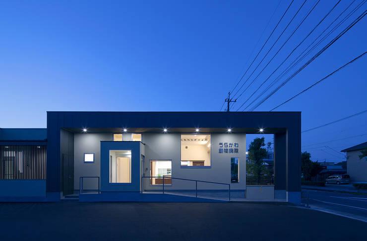 Houses by トヨダデザイン, Modern Metal