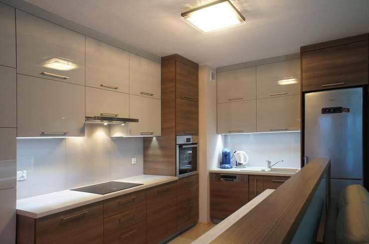 Mieszkanie, Białstok, Wygoda: styl , w kategorii Kuchnia zaprojektowany przez Anna Wrona,