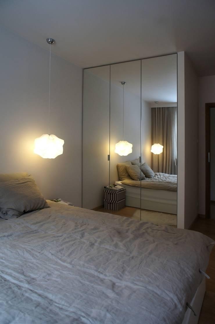 Mieszkanie Ignatki: styl , w kategorii Sypialnia zaprojektowany przez Anna Wrona,