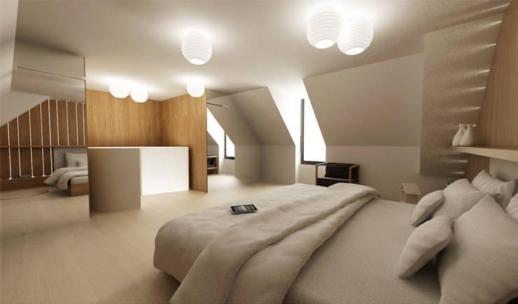 Decoraciones Pinturaskar: Dormitorios de estilo  de Pinturaskar