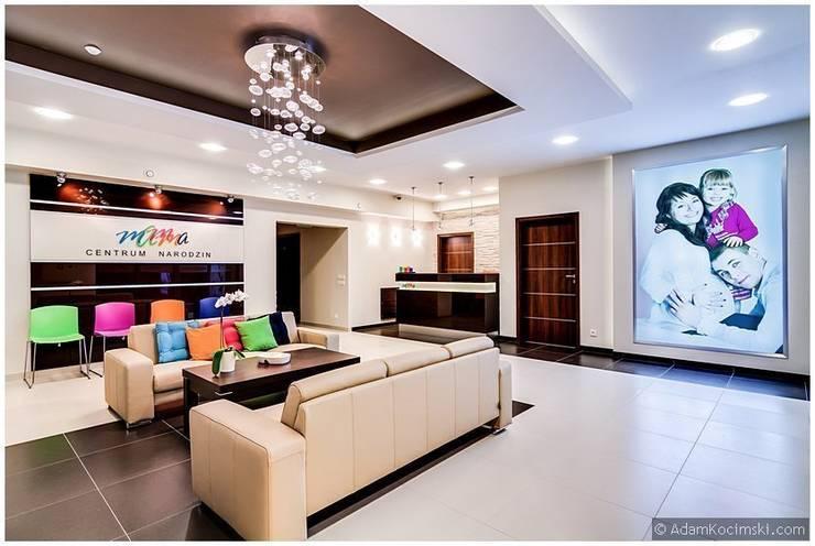 Centrum Narodzin Mamma: styl , w kategorii Kliniki zaprojektowany przez ARCHINSIDE STUDIO KATARZYNA PARZYMIES