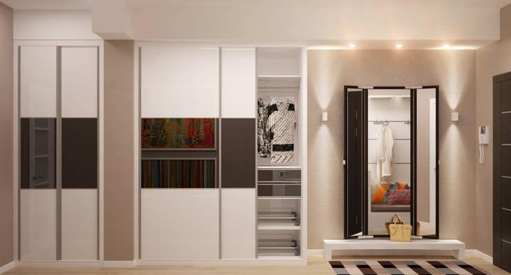 Узкая прихожая - решаем проблему правильно: Коридор и прихожая в . Автор – Студия дизайна Interior Design IDEAS