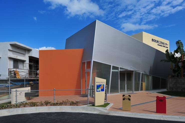 外観: 株式会社STN建築工房が手掛けた学校です。,