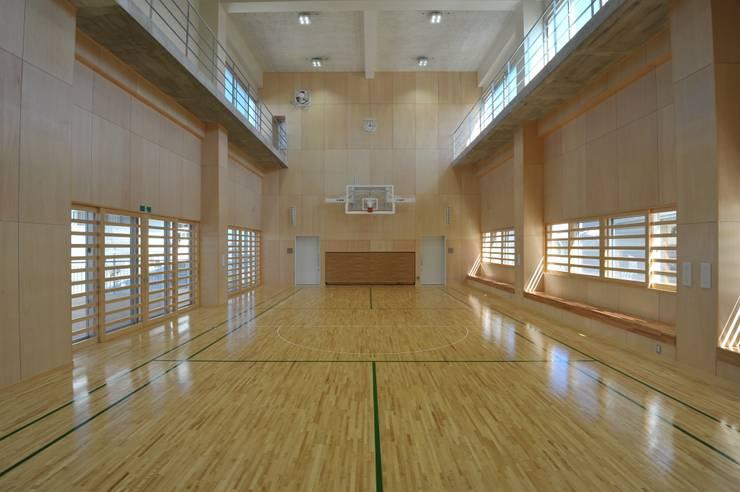 多目的ホール: 株式会社STN建築工房が手掛けた学校です。