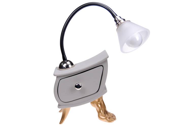 Vago Minds Ltd. – Çekmeceli Masa Lambası / Lamp Slate:  tarz İç Dekorasyon