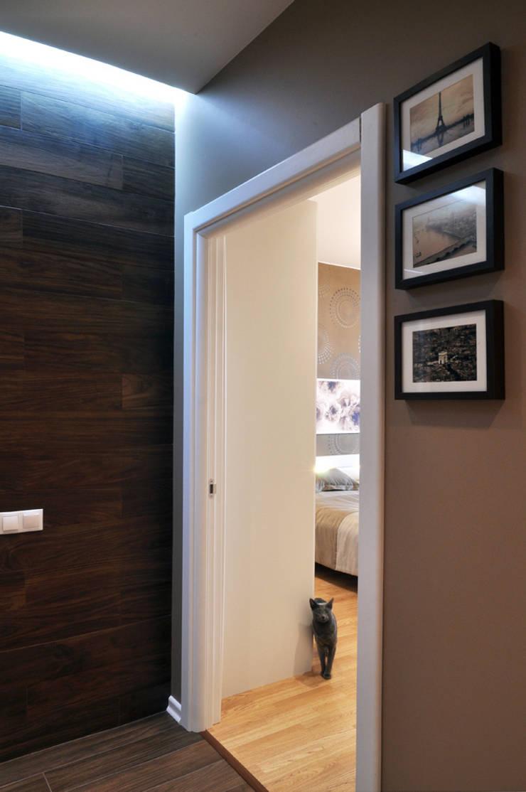 Квартира на Приморском проспекте: Коридор и прихожая в . Автор – Студия Анастасии Бархатовой