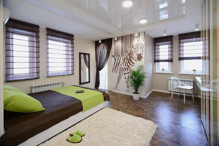 eclectic Bedroom by Студия Анастасии Бархатовой