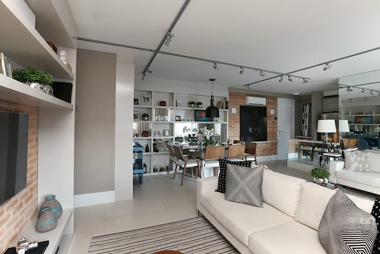 Salon moderne par SESSO & DALANEZI Moderne