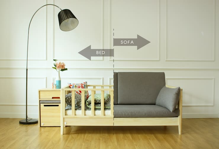 변형이 가능한 아동 침대: 끌렘(KKLEM)의  아이 방
