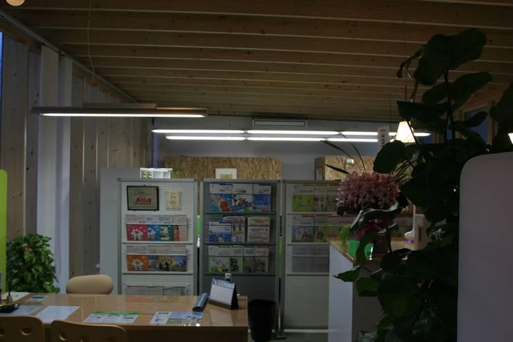 事務所内観: 上野貴建築研究所が手掛けた書斎です。
