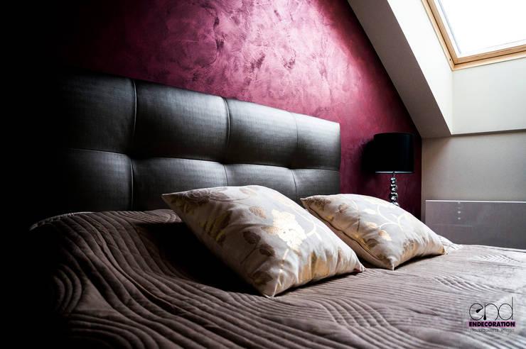 Dom pod Zambrowem : styl , w kategorii Sypialnia zaprojektowany przez EnDecoration,Nowoczesny