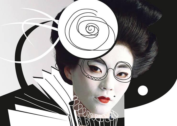Черное/белое: Произведения искусства в . Автор – Dariya Dranishnikova