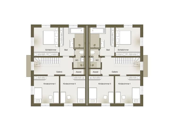 Grundriss Obergeschoss:   von GOLDBODEN