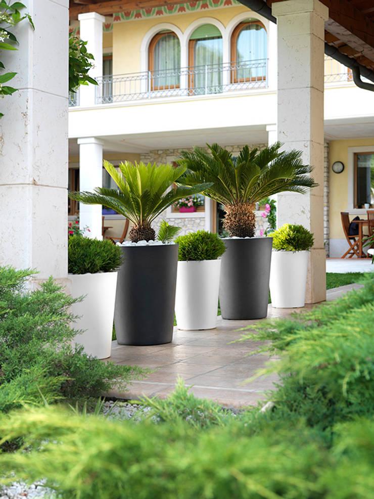 Nowoczesna donica Zamora: styl , w kategorii Ogród zaprojektowany przez TerraForm