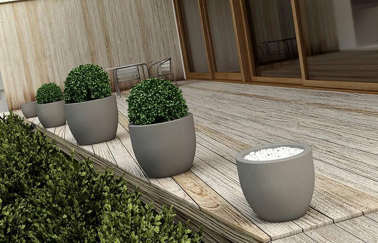 Donica  włoska Tondo Veneto: styl , w kategorii Ogród zaprojektowany przez TerraForm