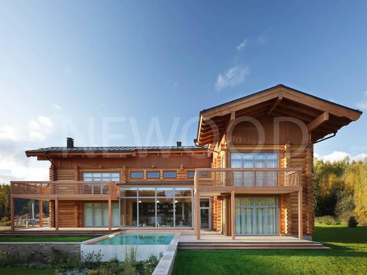 Locomotion-1: Дома в . Автор – NEWOOD - Современные деревянные дома