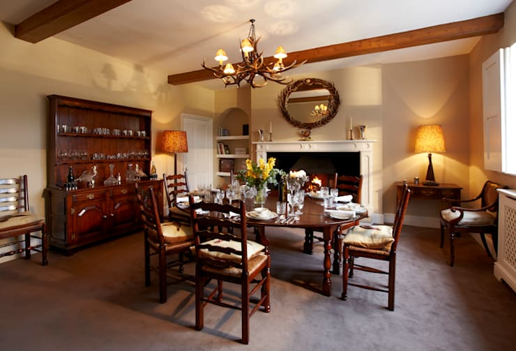 country Dining room by Etons of Bath