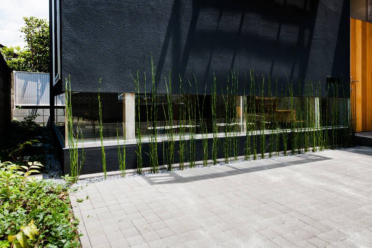 .: 藤田大海建築設計事務所が手掛けた庭です。