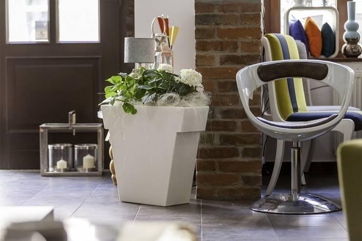 Nowoczesna donica Il Vaso: styl , w kategorii Zieleń wewnątrz zaprojektowany przez TerraForm