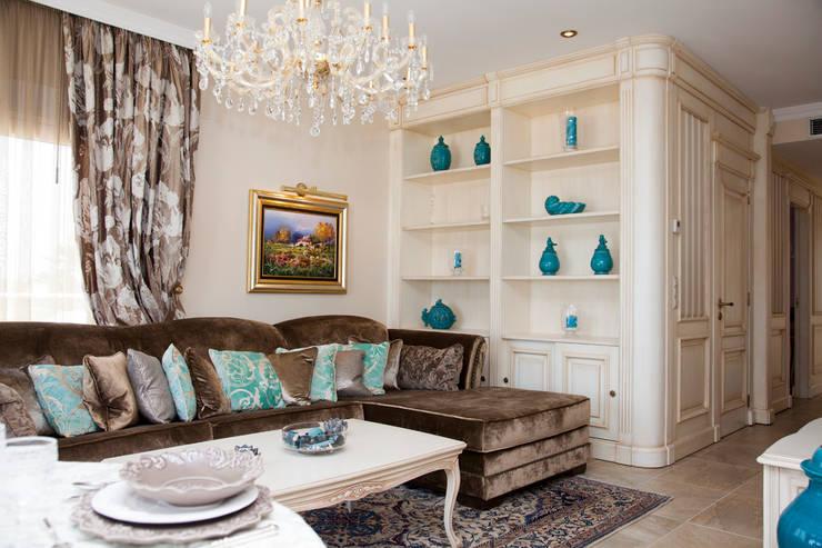 salón : Salones de estilo  de Emalia Home Design
