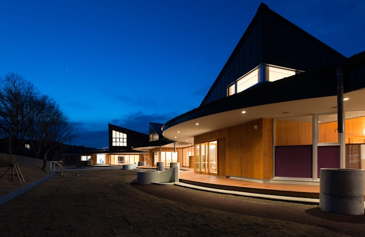しゃらこども園: u.h architectsが手掛けた学校です。