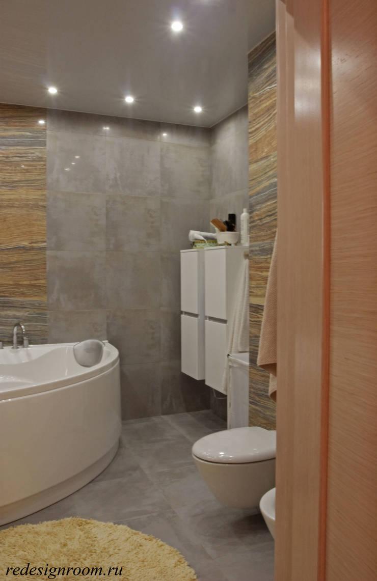 Камень: Ванные комнаты в . Автор – RED LIGHTs