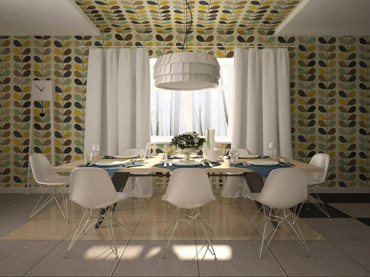 Дом солнца: Столовые комнаты в . Автор – RED LIGHTs