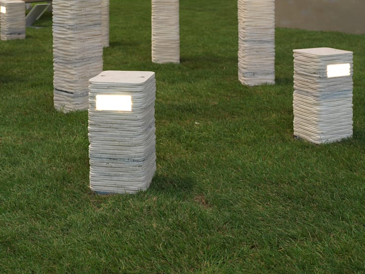 STRATO out 40 | Serafini Marmo Luce: Giardino in stile in stile Moderno di Marmi Serafini