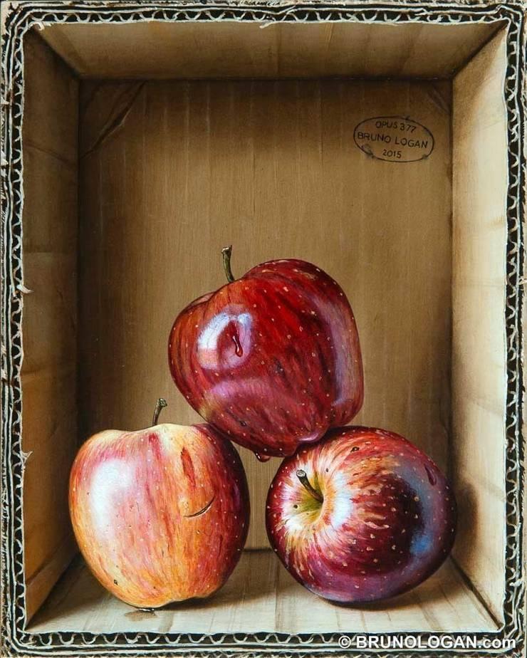Peinture en trompe-l'oeil de Bruno LOGAN: Art de style  par Peinture en trompe-l'oeil