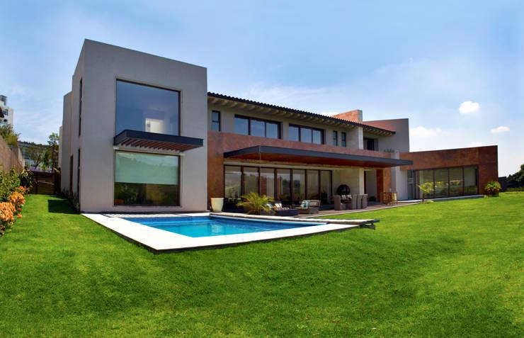 Casas modernas por Maz Arquitectos