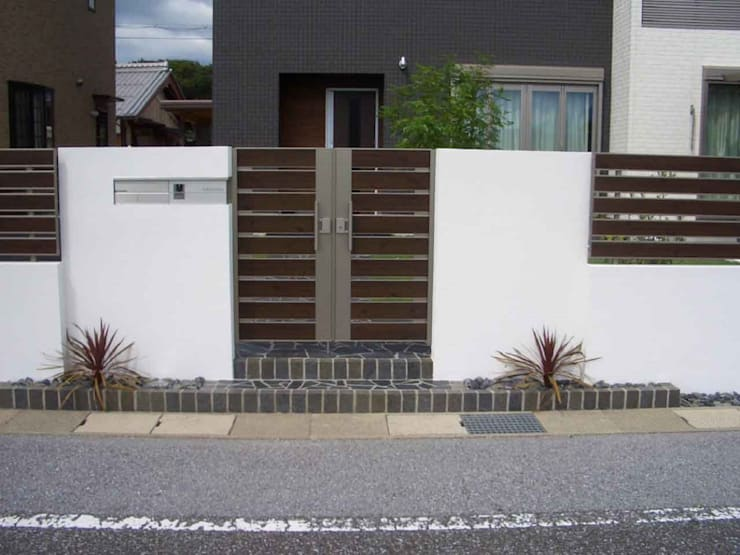 H様邸2: 山野興業 ガーデンスタイルなごみが手掛けたです。,