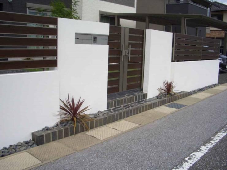 H様邸3: 山野興業 ガーデンスタイルなごみが手掛けたです。,