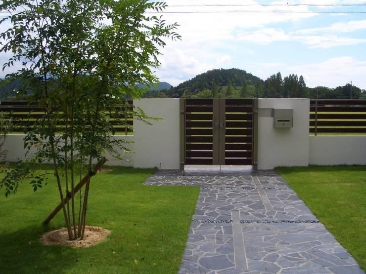 H様邸4: 山野興業 ガーデンスタイルなごみが手掛けたです。,