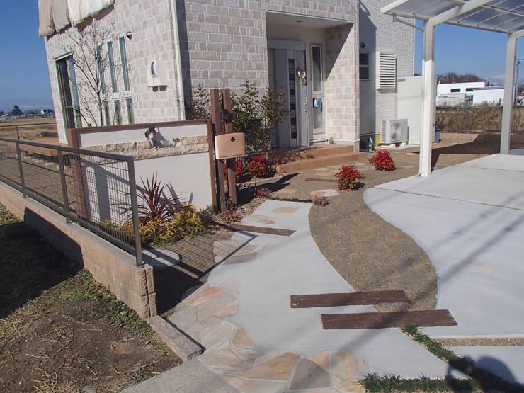 I様邸4: 山野興業 ガーデンスタイルなごみが手掛けたです。