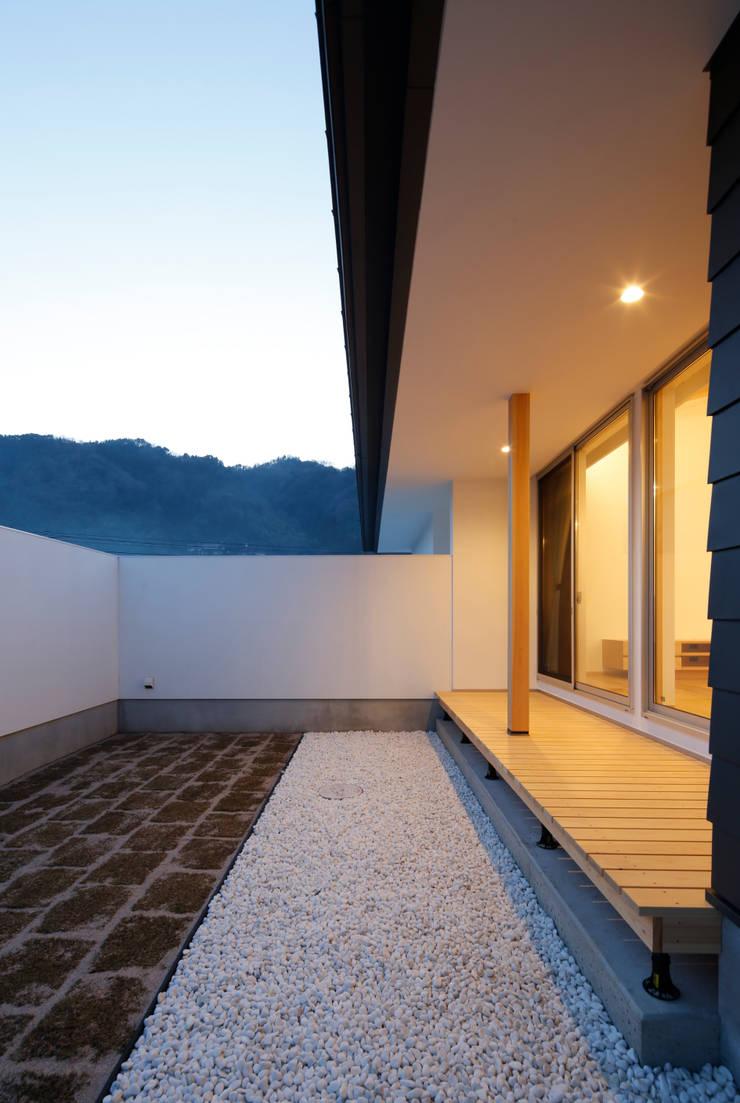 house-o: 株式会社山根一史建築設計事務所が手掛けた家です。