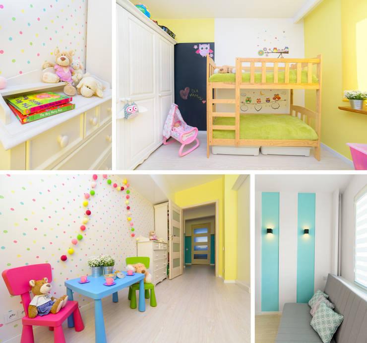 Mieszkanie prywatne - Ruda Śląska.: styl , w kategorii Pokój dziecięcy zaprojektowany przez PR Architects Sp z o. o. Pala&Rodek
