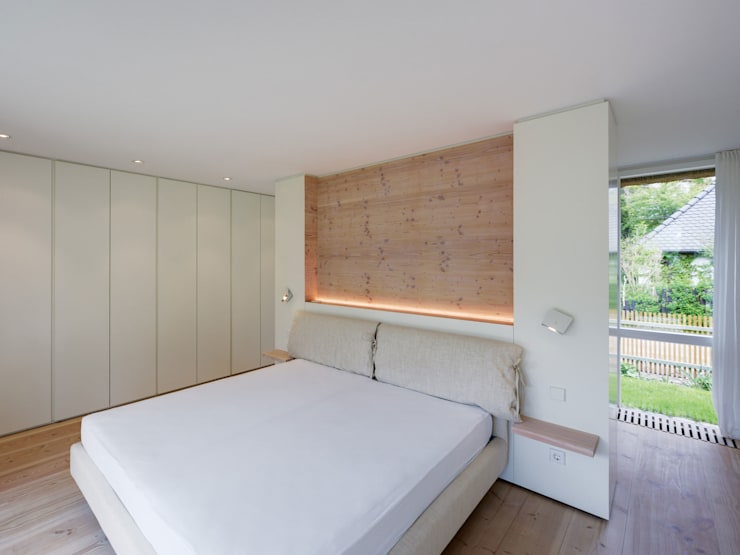 Bedroom by Möhring Architekten