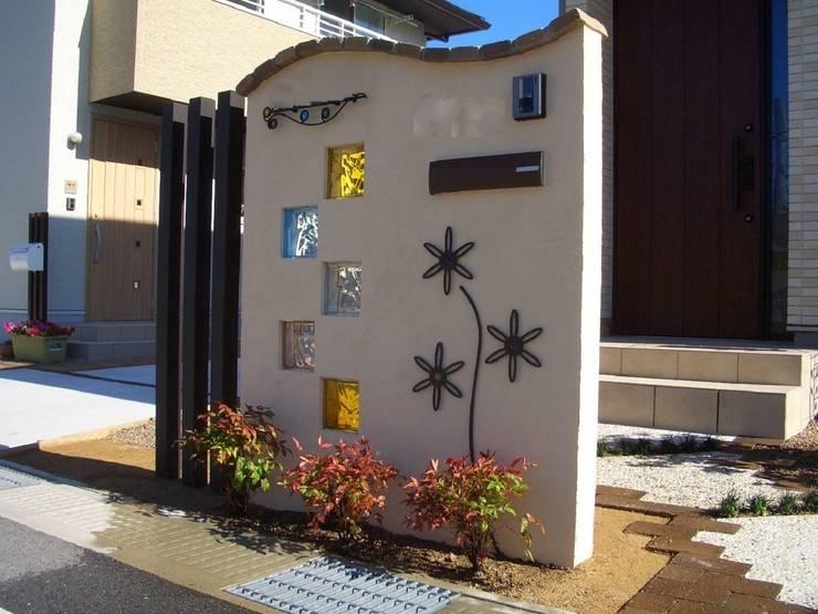 H4様邸2: 山野興業 ガーデンスタイルなごみが手掛けたです。,
