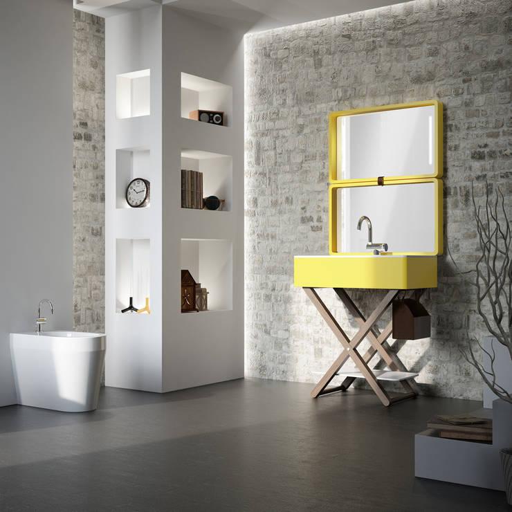 Il bagno di Olympia  My Bag design Gianluca Paludi: Bagno in stile in stile Moderno di olympiaceramica srl unipersonale