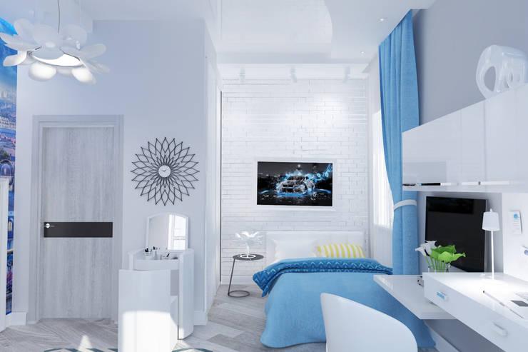 Спальня для студентки: Детские комнаты в . Автор – mysoul